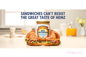 heinz real mayonnaise captureforce retouching